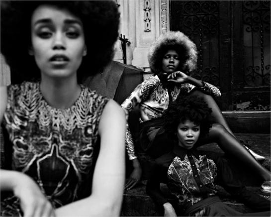 "Afro Look "" Jason Eric Hardwick"